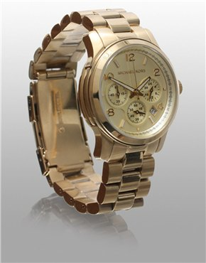 Michael Kors | Michael Kors Gold Chronograph Watch at ASOS