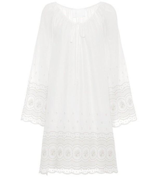 Athena Procopiou Sunday Morning cotton dress in white