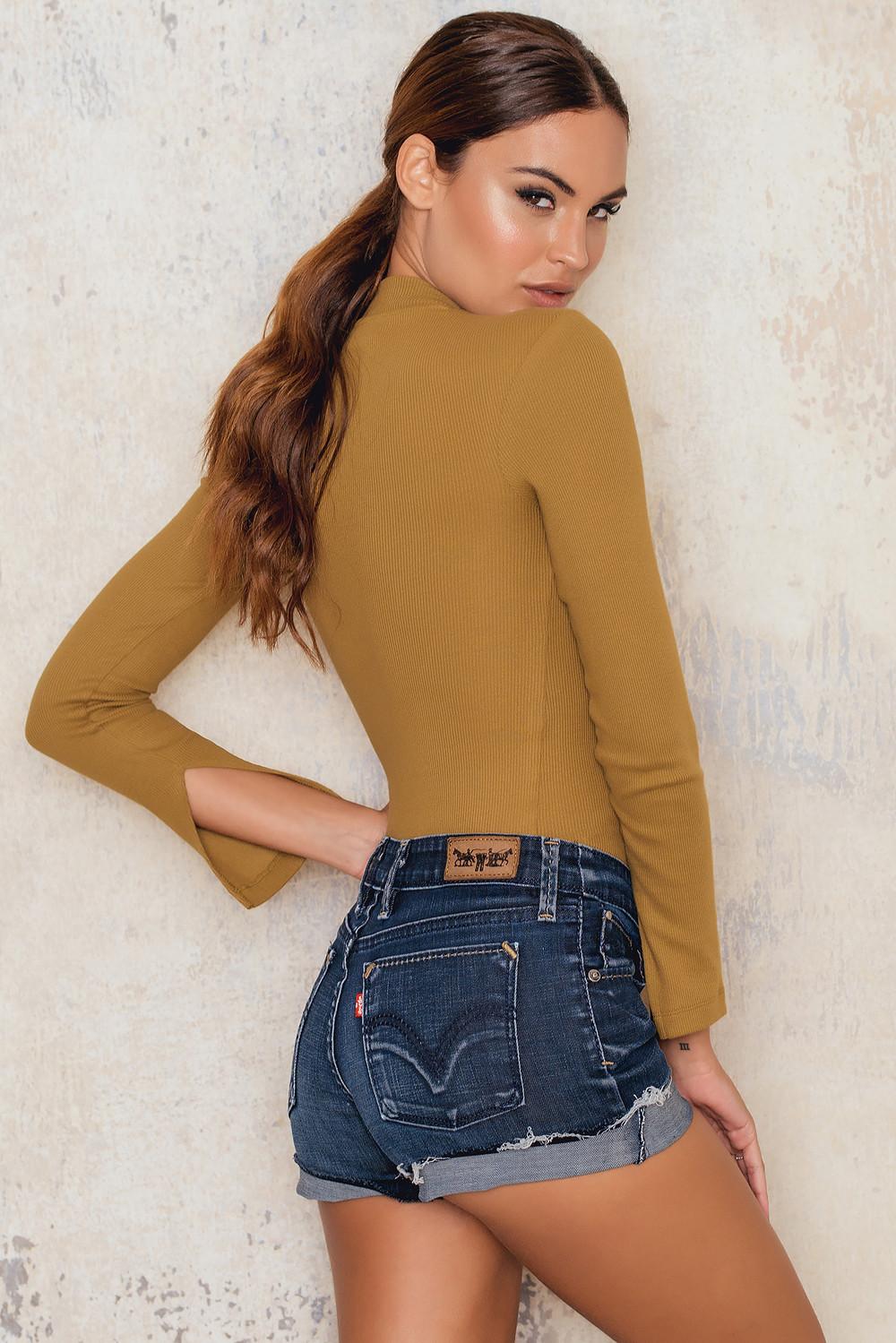 NA-KD Vintage Levi's Mid Waist Vintage Shorts