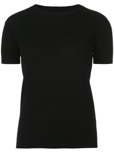 Nili Lotan t-shirt shirt t-shirt women black top