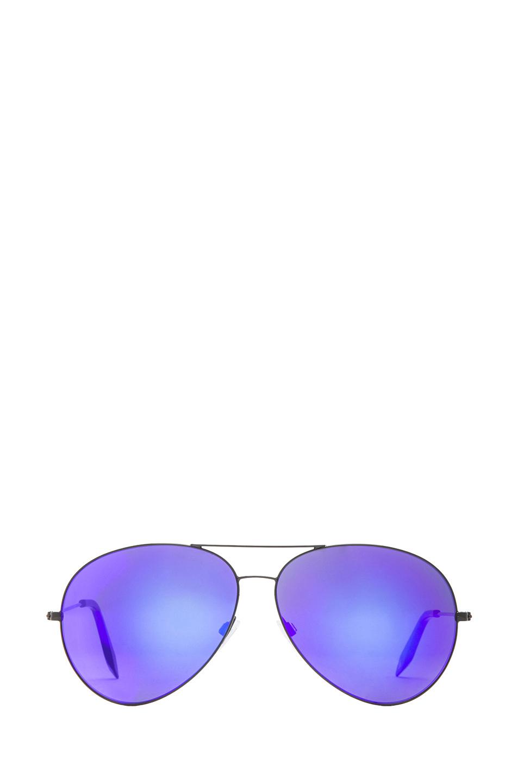 Victoria Beckham|Classic Aviator Sunglasses in Midnight Eclipse