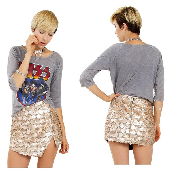 Class to Night Out: Sequin Mini Skirt