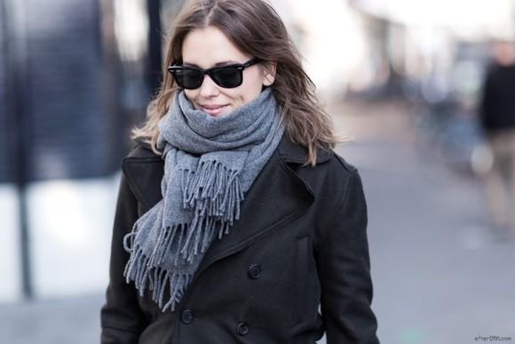 after drk blogger sunglasses scarf
