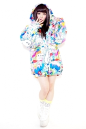 cartoon,neon,blue,orange,white,red,pink,green,lime,rainbow,cute,kawaii,decora,bright,lovely