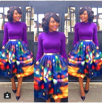 skirt colorful colorful skirt colorful skirts bright skirt pleated skirt