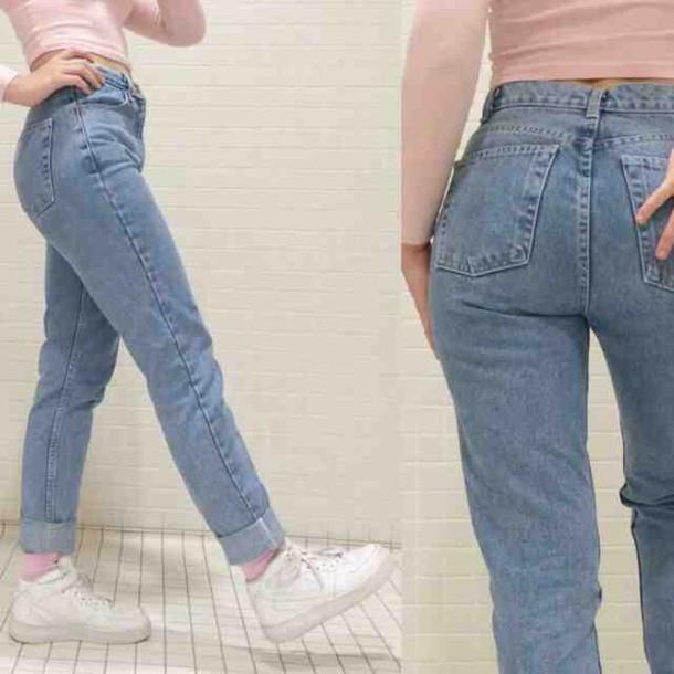 jeans blue purple denim pants pants straight legged leg straight leg cut folded tumblr teenagers vintage retro mom booty lift art hoe art hoe pockets pockets shoes 90s style straight jeans
