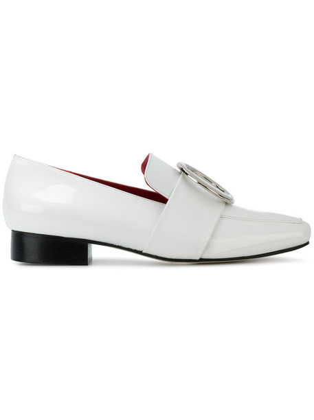 Dorateymur women loafers leather white shoes
