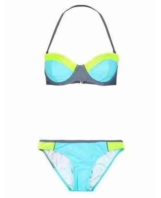 swimwear blue bikini blue bikini bottoms green bikini bottoms grey bikini bottoms grey bikini top green bikini top pushup bikini top