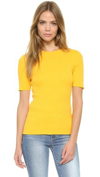FRAME sweater yellow