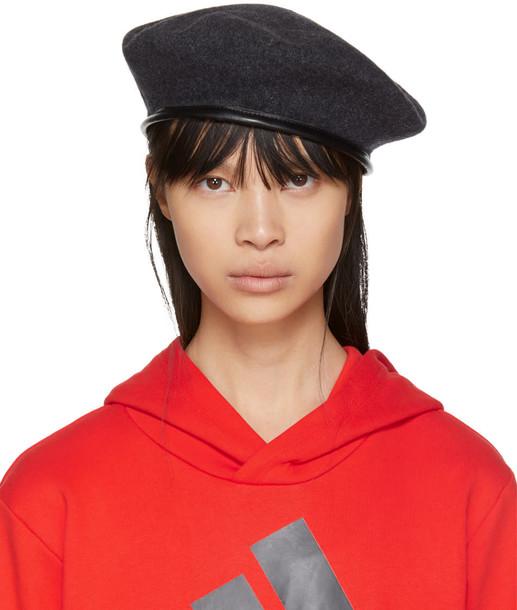 Gosha Rubchinskiy beret grey hat