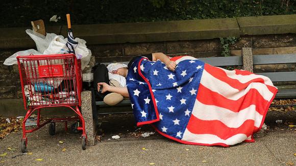 america flag bag