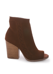 shoes,chestnut,flyknit,booties,peep toe