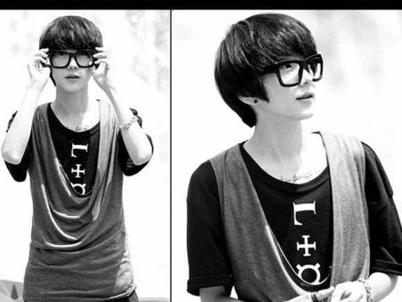 shirt boy loose vest layers kawaii cute ulzzang ulzzang boy