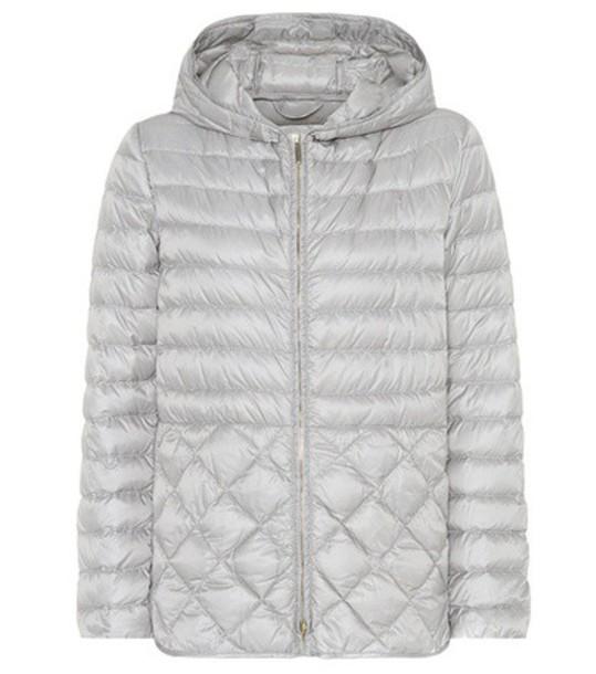 S MAX MARA jacket down jacket grey