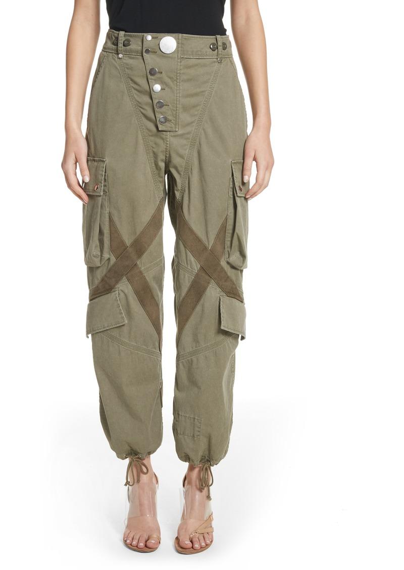 Alexander Wang Alexander Wang Tie Cuff Army Trousers | Casual Pants