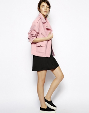 sister jane | Sister Jane Wool Biker Jacket at ASOS