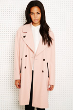 Sparkle & Fade Overcoat at Urban Outfitters