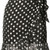 Dodo Bar Or - polka dot ruffle skirt - women - Viscose/Metallic Fibre - 44, Black, Viscose/Metallic Fibre