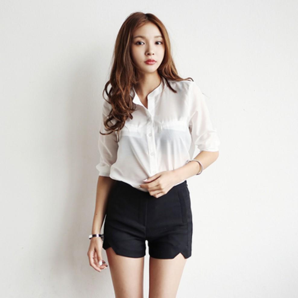 Pocket China blouse