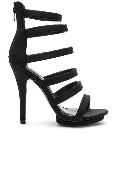 by the way. heel black shoes