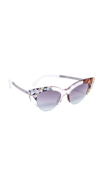 sunglasses pink aqua violet