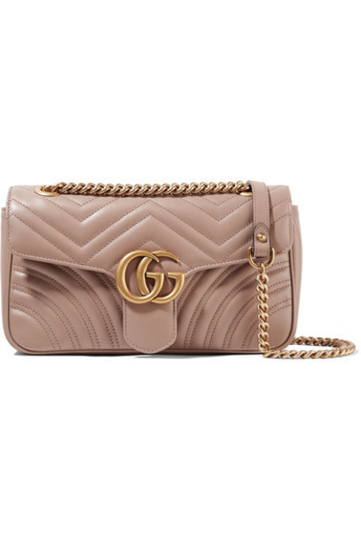 gucci rose quilted bag shoulder bag leather