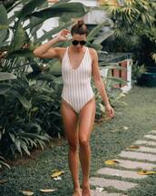 swimwear,white swimwear