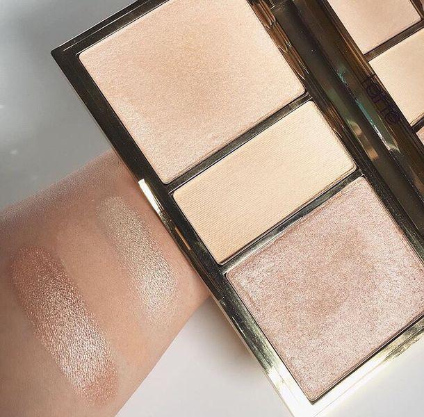 make-up highlight illuminate face makeup makeup palette nude