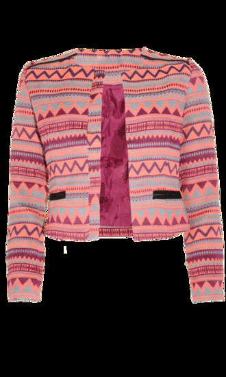 pink jacket musthave tribal pattern pink jacket classy trend