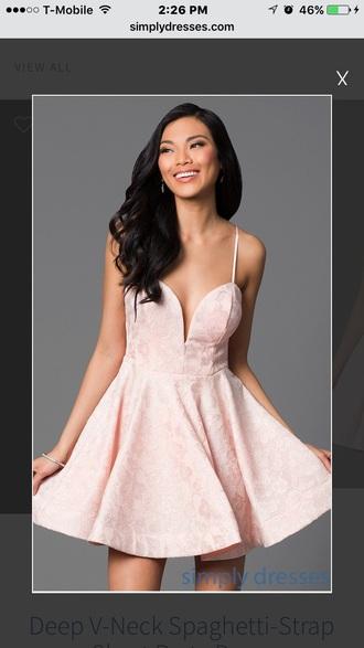 dress pink dress mini dress homecoming dress homecoming short homecoming dress cocktail dress party dress short prom dress