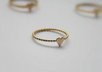 jewels ring gold ring gold jewelry knuckle ring dotted beaded stacked jewelry jewelry hand jewelry fashion jewelry swimwear minimalist jewelry heart