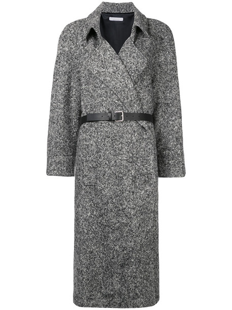Jean Paul Knott coat wool coat oversized women black wool