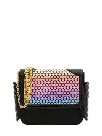 rainbow bag shoulder bag black
