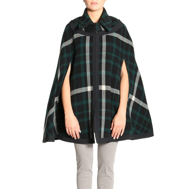 Burberry coat women black