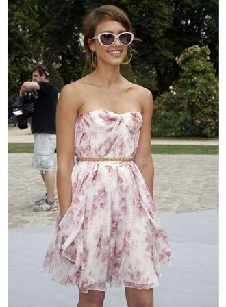 jessica alba dress sunglasses