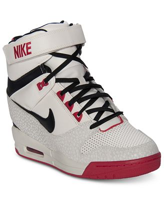 finest selection 02b36 05e0b Nike Womens Air Revolution Sky Hi Casual Sneakers from Finis