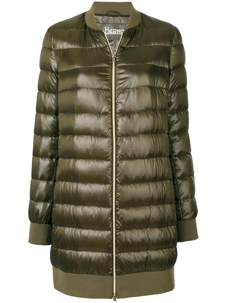 Herno coat women green