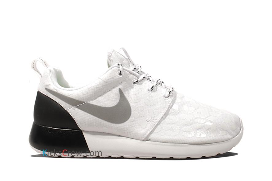 super popular 27c3b 92ee6 Nike Wmns Roshe Run PRM Leopard - White Black (525321-100 ..