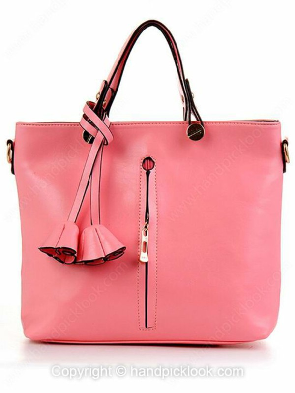 bag hangbag pink bag