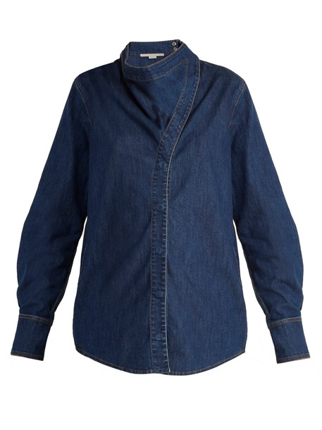 Stella McCartney shirt denim shirt denim top