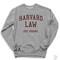 Harvard law just kidding sweater