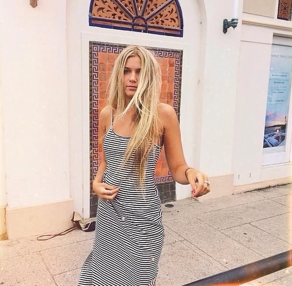 striped dress stripes black white summer outfits summer dress maxi dress dress cute cute dress style