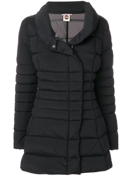 Colmar - Millennium padded coat - women - Feather Down/Polyamide/Spandex/Elastane - 42, Black, Feather Down/Polyamide/Spandex/Elastane