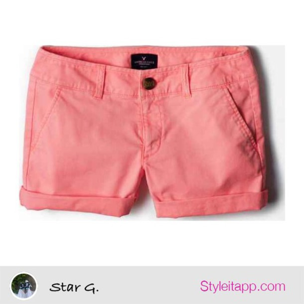shorts pink shorts