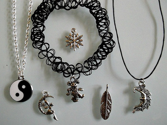 Choose charm and chain
