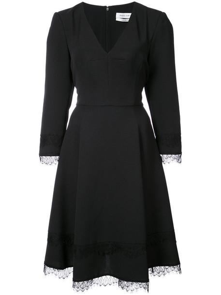 dress lace dress women lace black silk