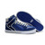 Supra blue silver Men High Tops Vaider