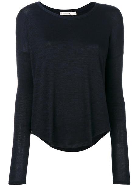 Rag & Bone /Jean t-shirt shirt t-shirt long women spandex brown top