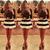 Sweet Round Neck Stripe Print Spliced A-line Short Dress For Women - $21.45