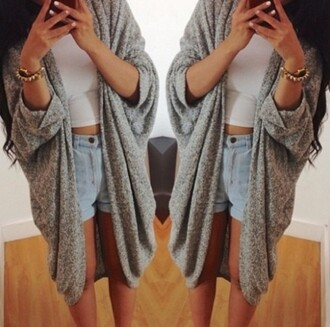 cardigan grey sweater oversized cardigan